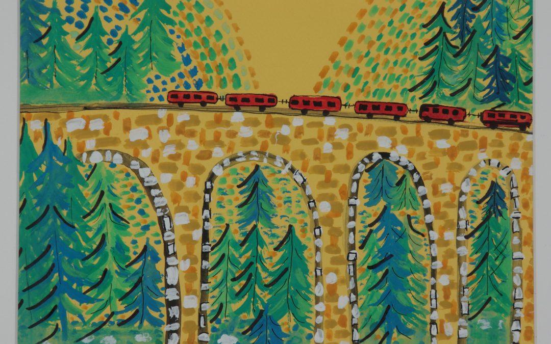 Train en suisse